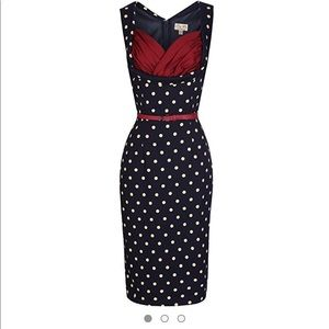 NWT- Lindy Bop- Vanessa Wiggle Dress